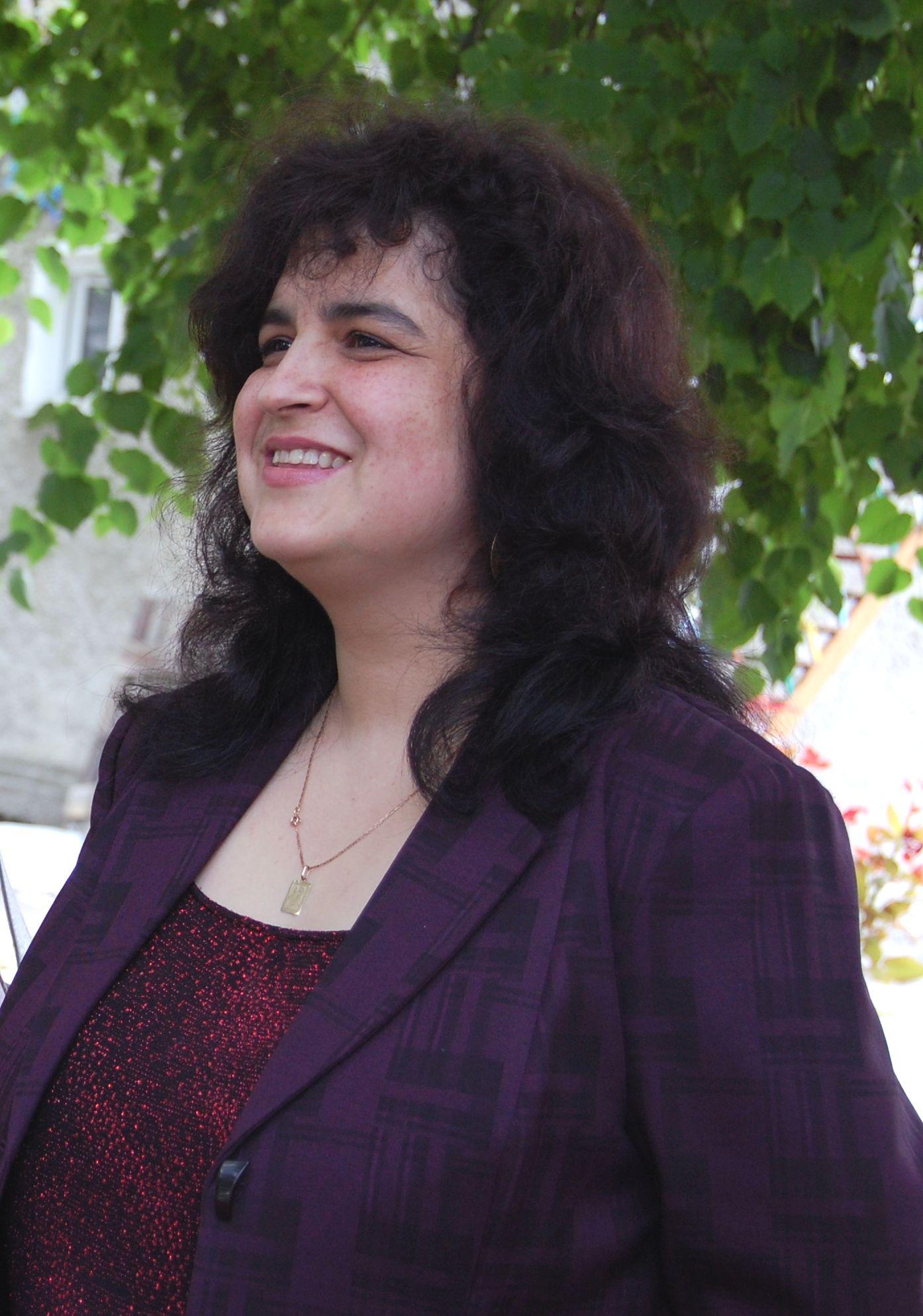 Lucia Gavriliuc, doamna care iubeşte viaţa