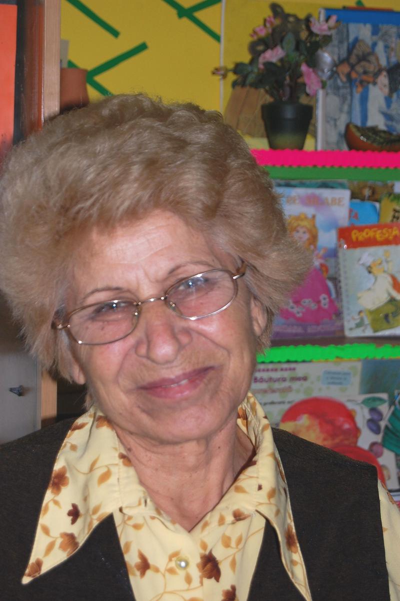 Educatoarea Maria Onofrei