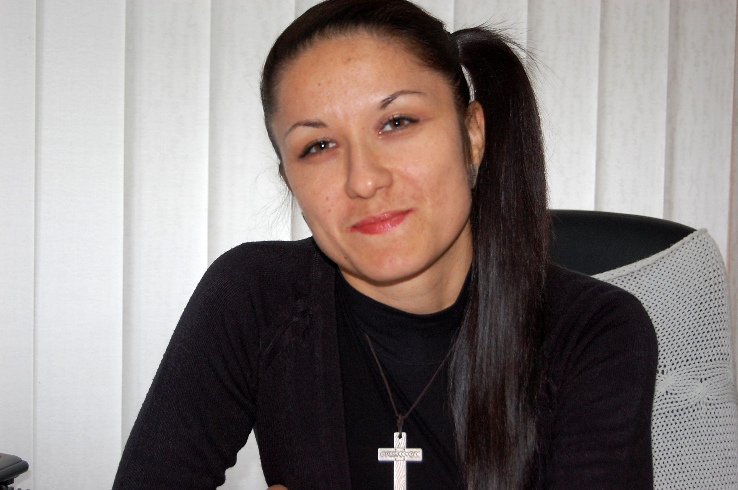 Directorul Poşta Moldovei, filiala Ungheni, Irina Cucoara