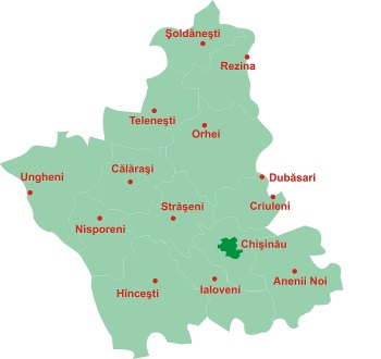 Regiunea de Dezvoltare Centru. Din 10 proiecte 6 sînt pentru Ungheni-Nisporeni-Călăraşi