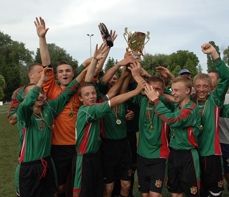 Şcoala Sportivă din Ungheni - Campioana diviziei A U-18 la fotbal