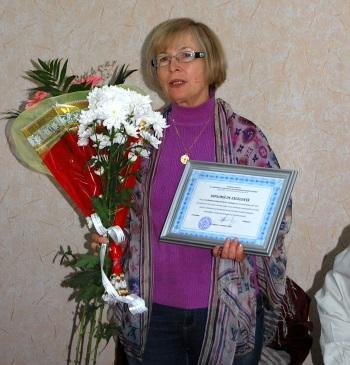 Nina Gorincioi-Cadoppi la întîlnirea din Ungheni