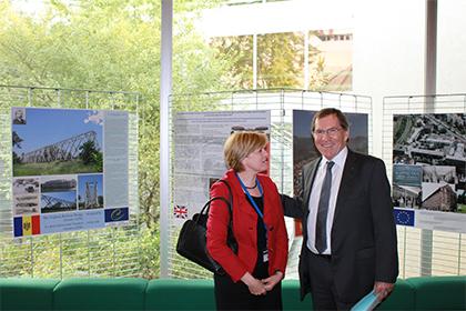"""Strasbourg, 1 octombrie 2013. Expoziţia """"Patrimoniul industrial european"""""""