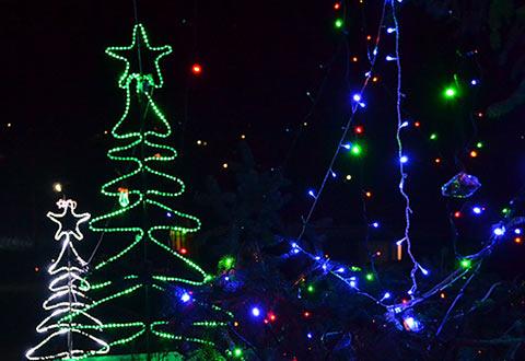 În fotografie: satul Sipoteni în ziua de 1 decembrie 2013