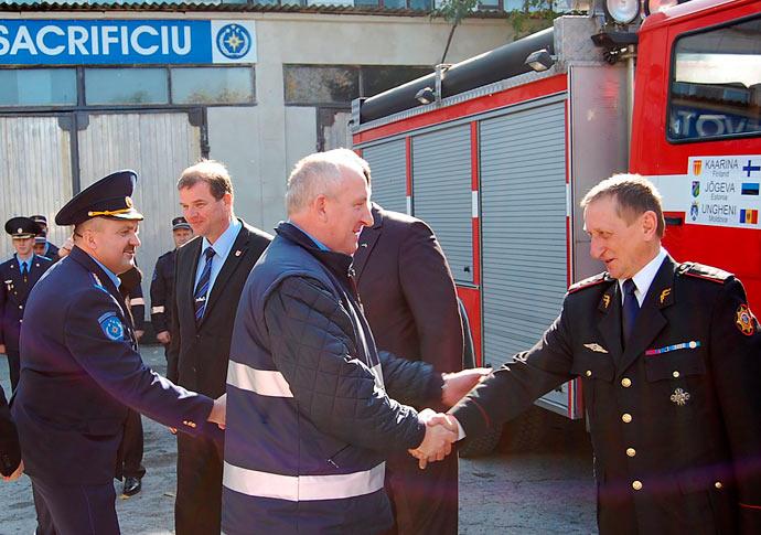 Masina pompieri Ungheni