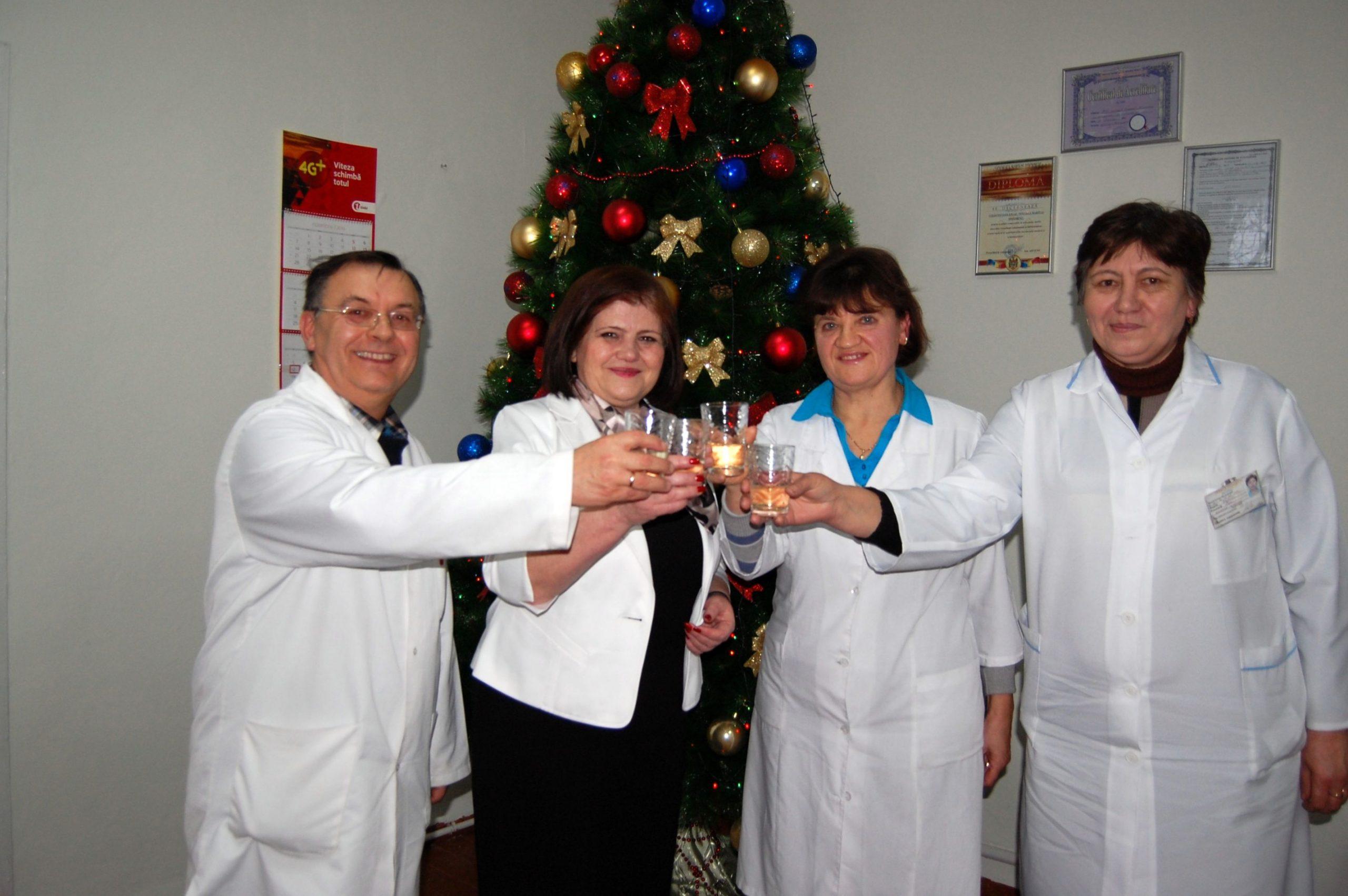 Crăciunii de la Spitalul din Nisporeni