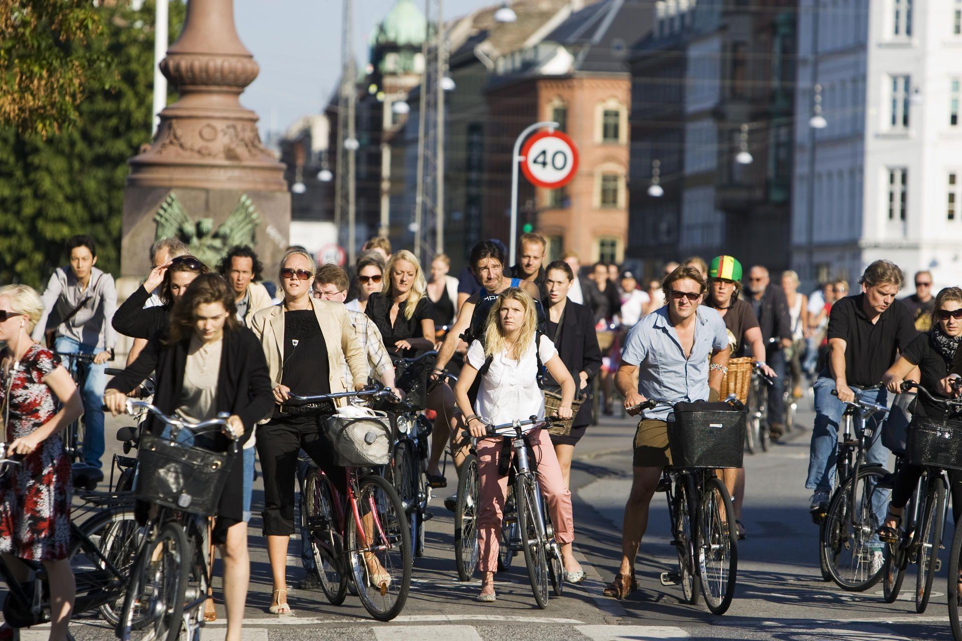 Foto: Imagine obișnuită pentru Copenhaga. Sursa: VisitDenmark