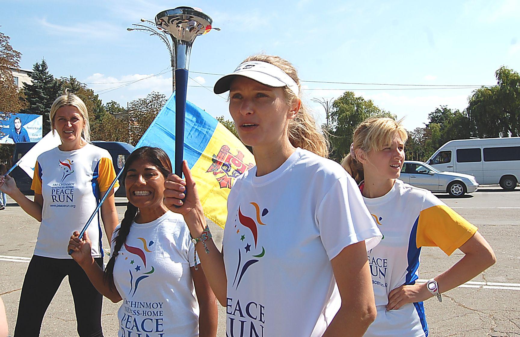 Peace Run, Ungheni, 2014