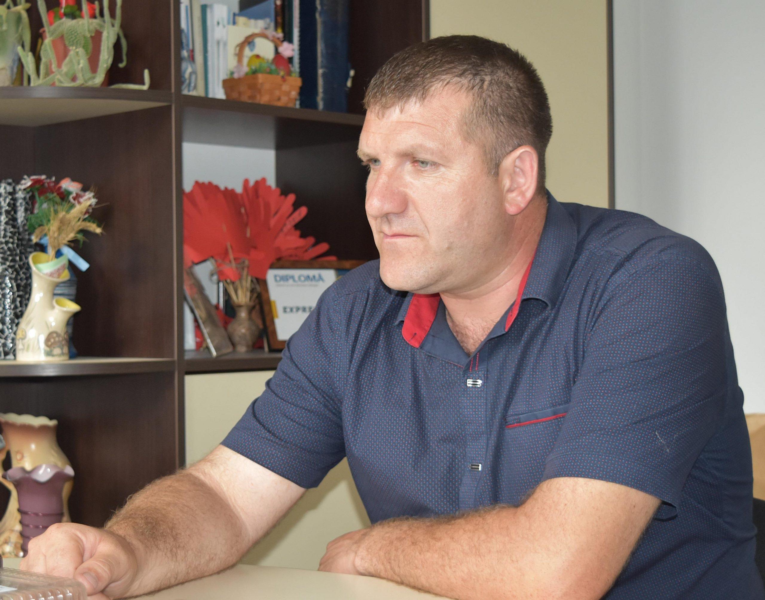 Sergiu Bodrug, primarul satului Măgurele
