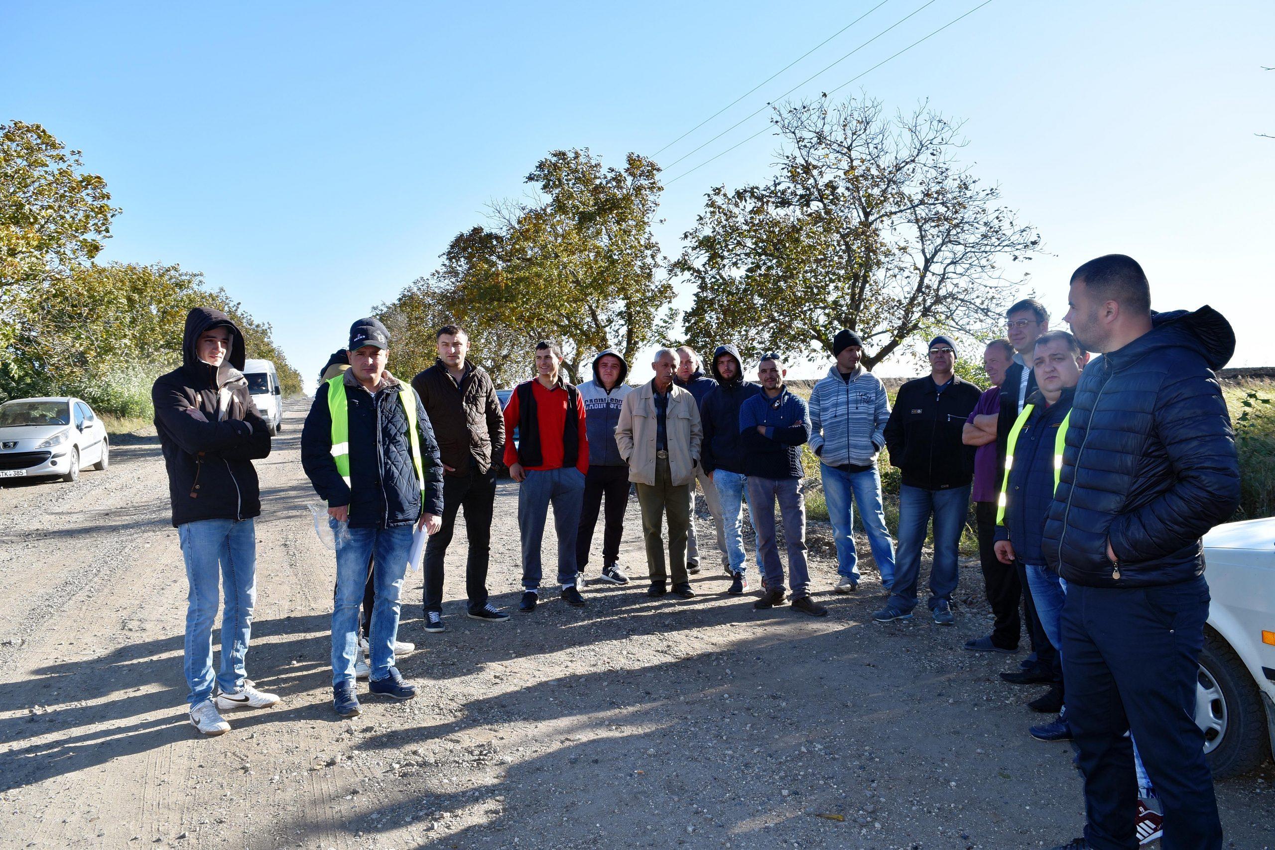 Protest pe drumul Ungheni-Cetireni-Unțești