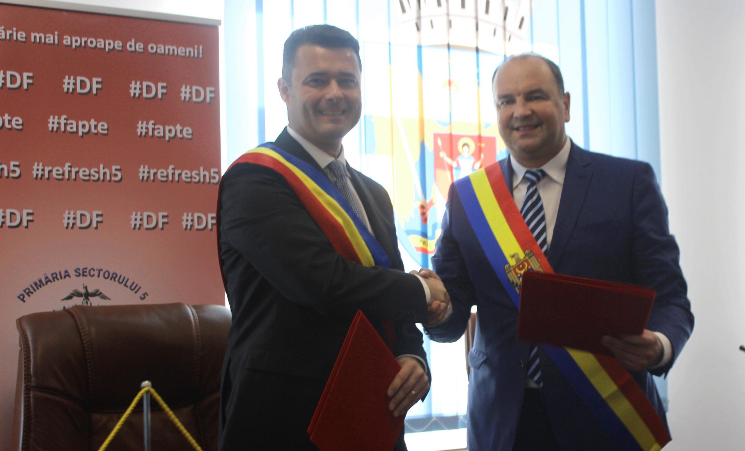Daniel Florea cu Alexandru Ambros