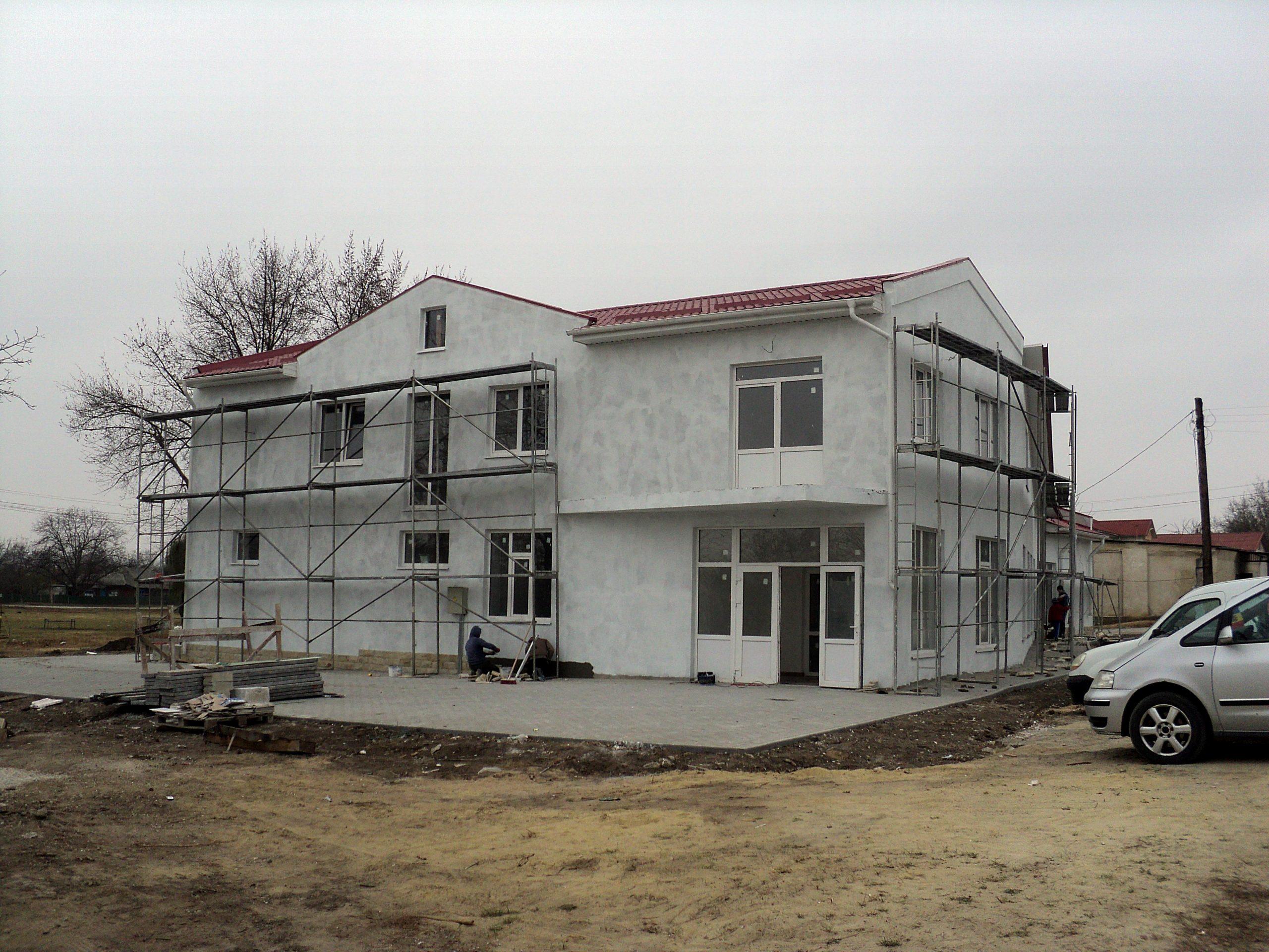 Centrul cultural multifuncțional din cartierul Berești, Ungheni