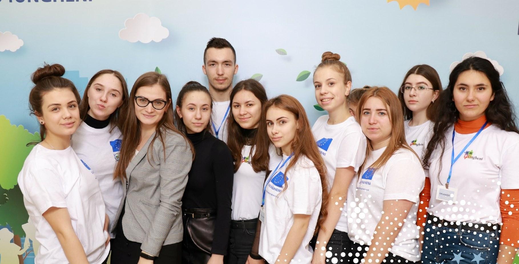 """Foto: Voluntarii """"Pro Ungheni"""""""