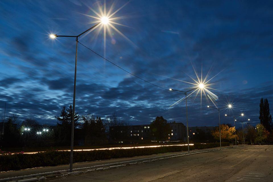 Iluminat stradal la Cantemir
