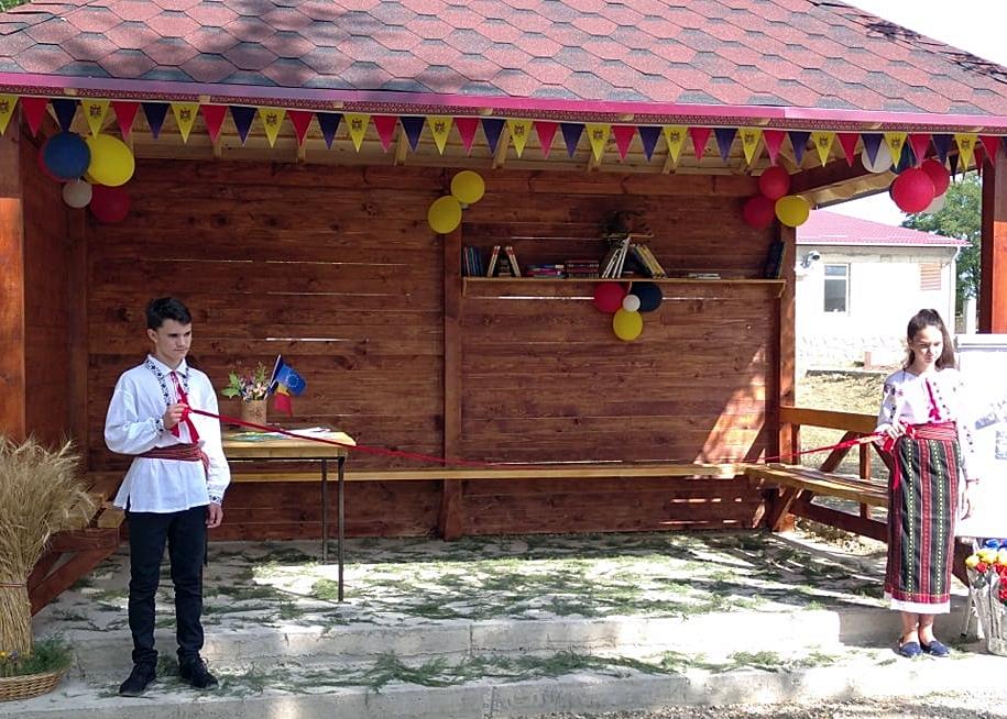 Foto: facebook.con/Biblioteca Publică Comunală - comuna Buciumeni, satul Florești