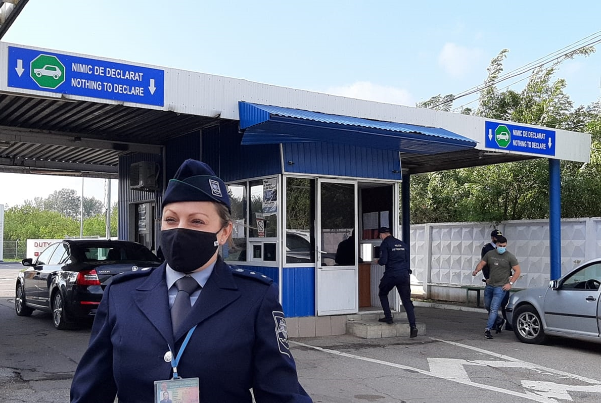 Foto: Facebook/Direcția regională Vest a Poliției de Frontieră